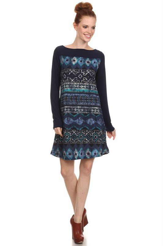 Beyond the Blue Sweater Dress