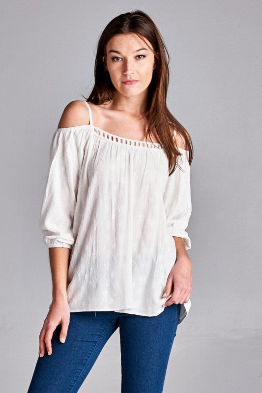 Boho Blossoms Top