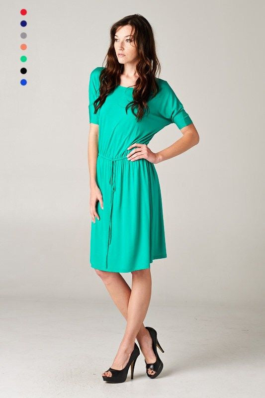 Cubicle Confessions Dress in Green
