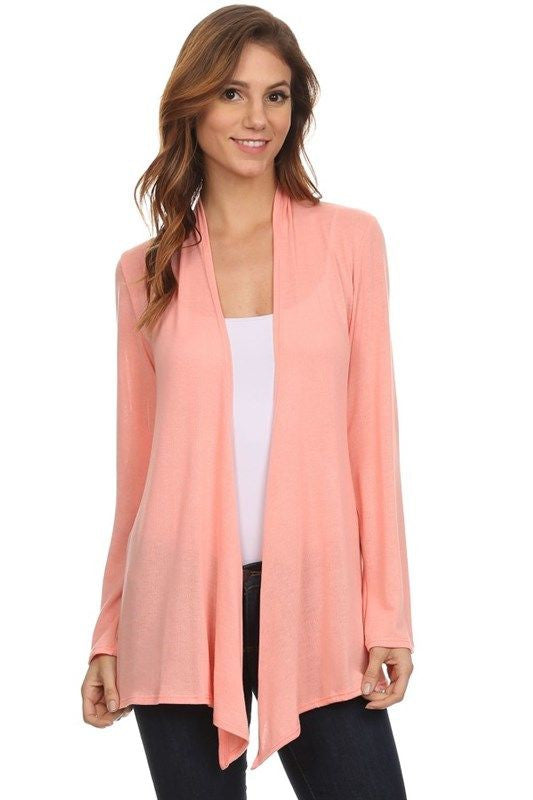 Easy Breezy Cardigan in Dusty Rose