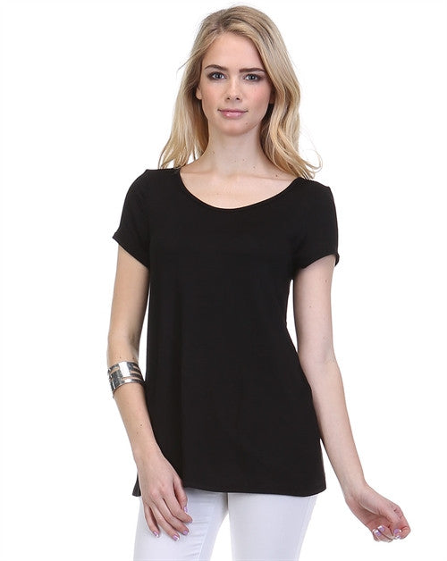 Origami T-Shirt in Black