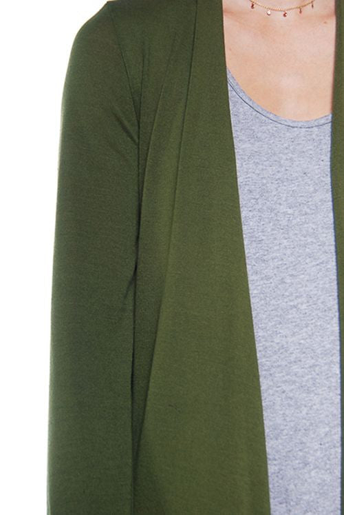 Easy Breezy Cardigan in Green