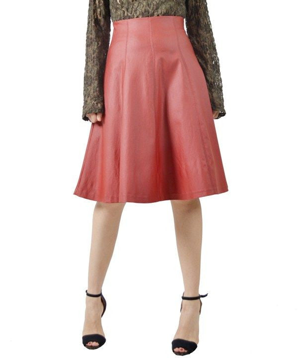 Shake it Up Faux Leather Skirt