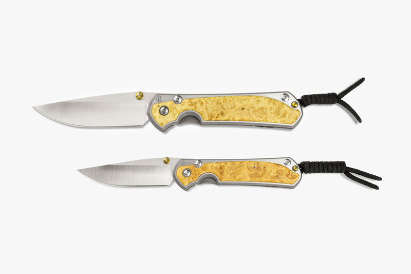 Sebenza 31 Box Elder Burl