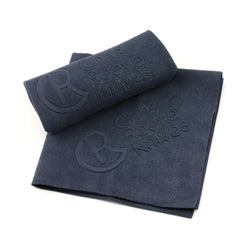 Blue Embossed Microfiber Cloth