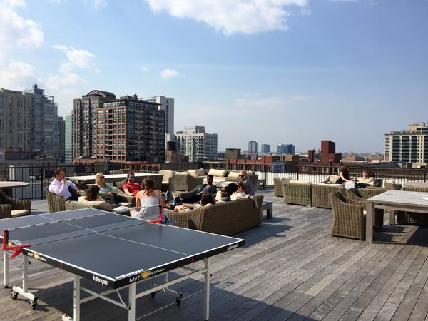trunk club chicago roof deck
