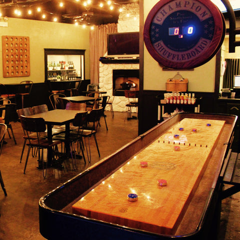Bar With Shuffleboard Table Lakeview