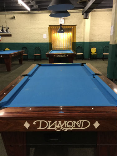 Chris's Billiards Portage Park pool hall Chicago