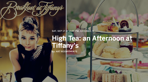 high tea event chicago