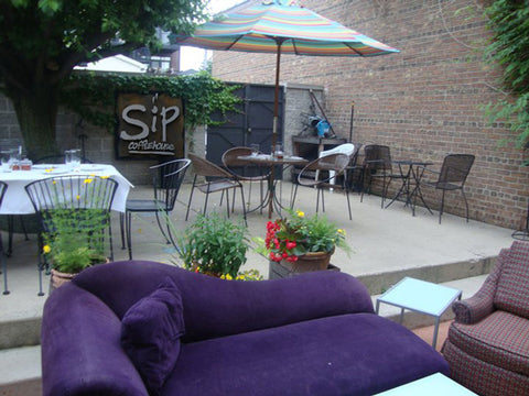 Sip Coffee House Chicago outdoor patio