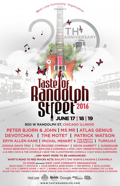 Taste of Randolph Chicago