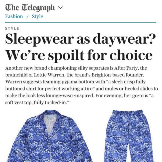Featured: The Telegraph Fashion