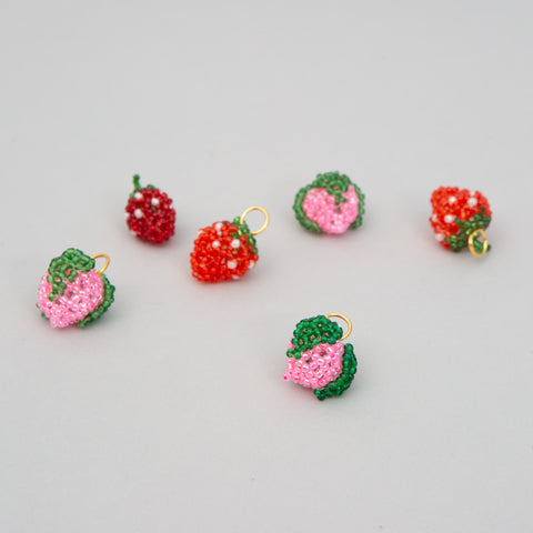Beaded Fruit Charms