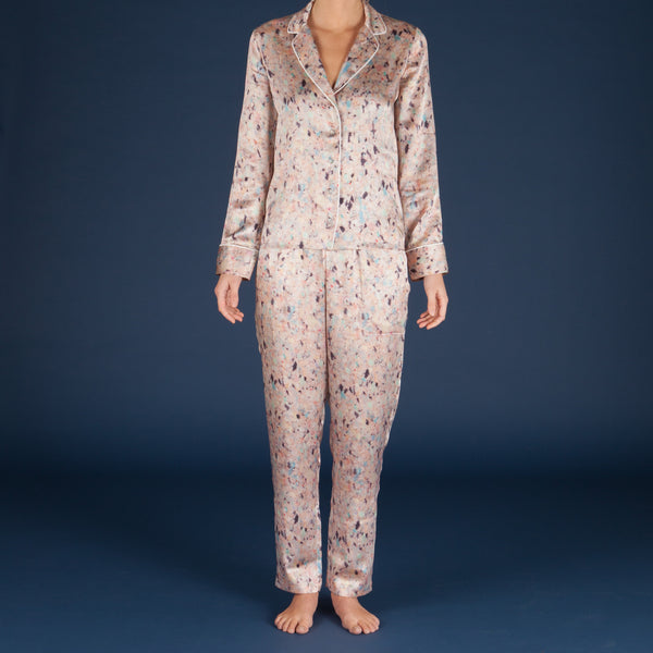 30% OFF - Faded Silk Pyjama Set