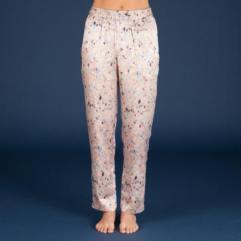 FINAL SALE - Faded Silk Pyjama Pant
