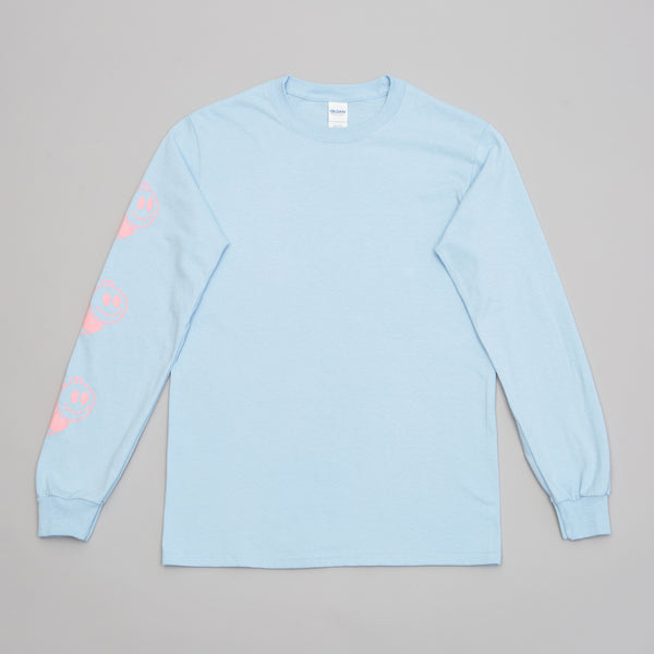 Smiley Bee Long Sleeve Blue