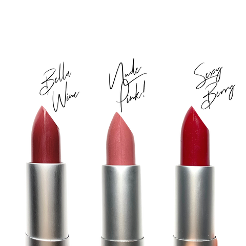Vegan Luxurious Lipstick (Sexy Berry Maraschino color)