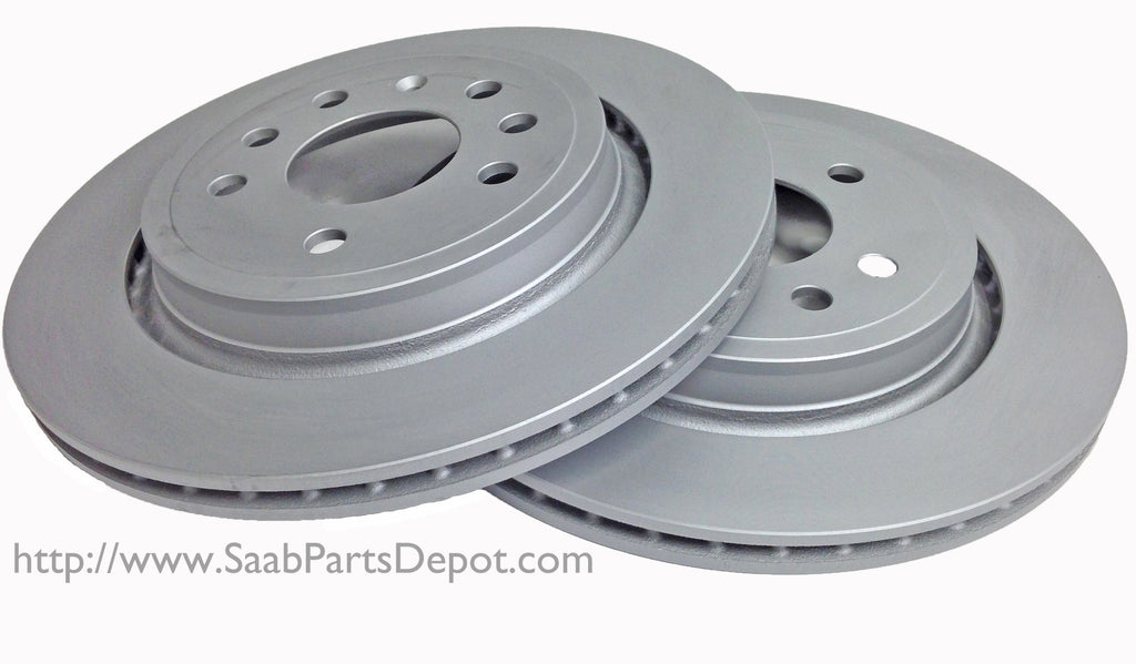 "Rotor Pair (12762291) - REAR 16"" - 2003-2011 9-3 - Saab Parts Depot"