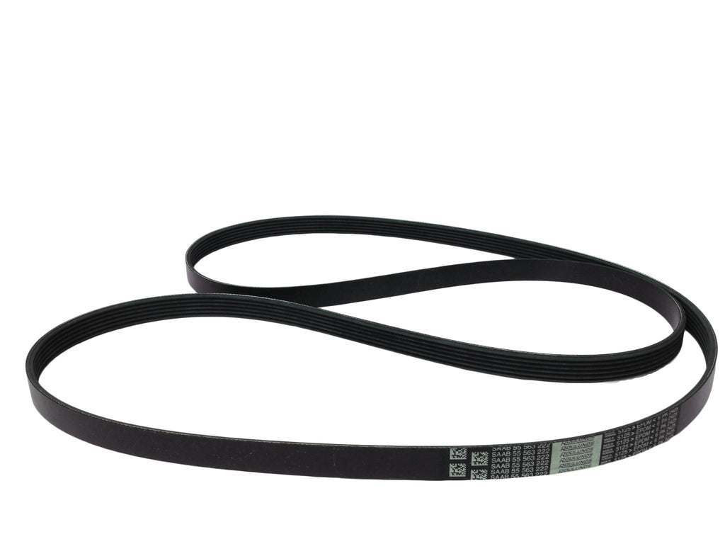 OEM Saab Serpentine Belt P/N 55563222 - 1999-2009 9-5 - Saab Parts Depot