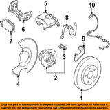 Front Brake Pad Kit (13237753) - 2010-2011 Saab 9-5 - Saab Parts Depot  - 1