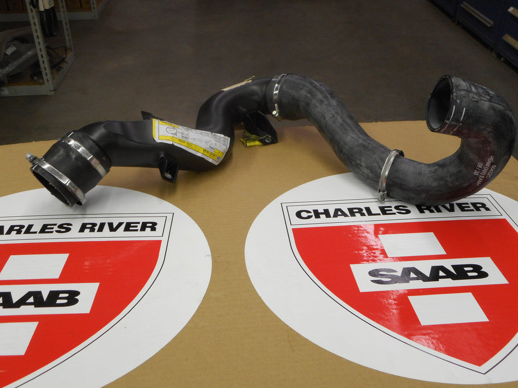 "CLEARANCE ITEM!! Turbo Intercooler Hose. P/N 12790720. Fits 2006+ ""93"" with V6 engine. - Saab Parts Depot"
