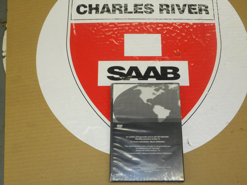 CLEARANCE ITEM!! Navigation DVD disc for Saab 97X  P/N 25956245
