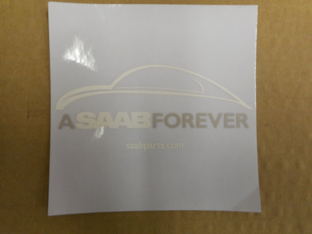 P/N 0295186. Saab Forever Accessory Decal. - Saab Parts Depot