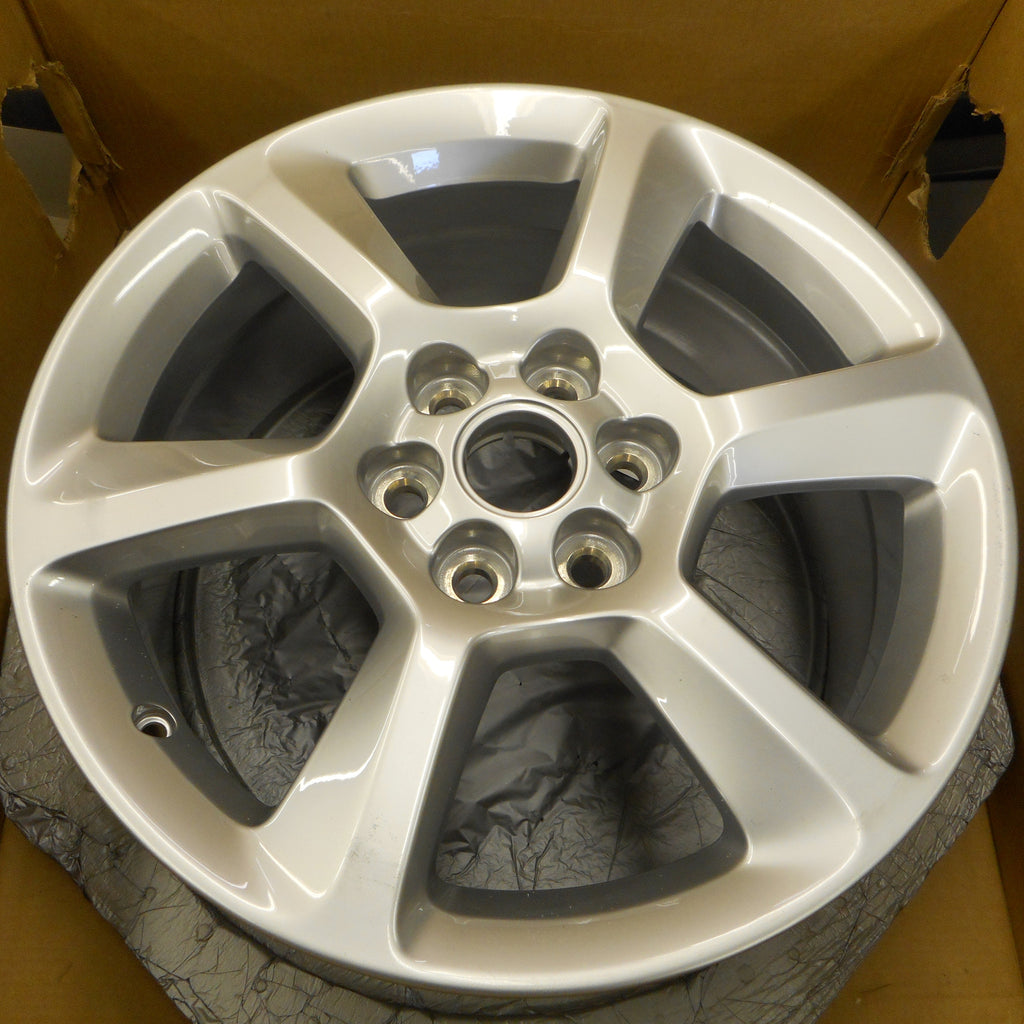 CLEARANCE ITEM!!! Set of 4  New Saab 94X Alloy Wheel 18X8 (09597409) Painted Silver. - Saab Parts Depot