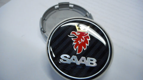 Saab Carbon Fiber Saab Wheel Center Cap (12775052CF) - 9-3, 9-5, 900, 9000
