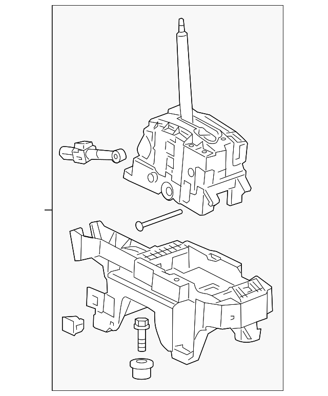 Genuine Saab Auto Trans Shifter Assembly