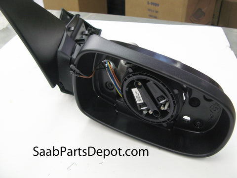 Passenger Exterior Mirror Housing w/ Memory Funct. (5361837) - 9-5 - Saab Parts Depot  - 1