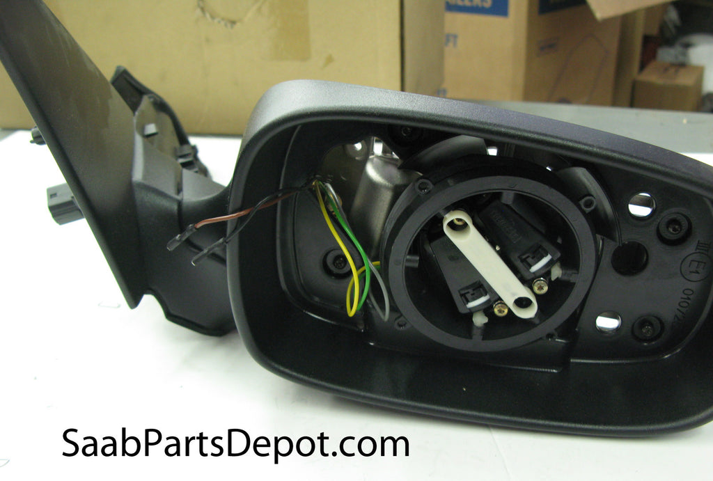 Genuine Saab Passenger Exterior Mirror Housing w/o Mem. Funct. (5512728) - 9-5 - Saab Parts Depot  - 1