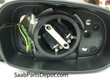 Genuine Saab Passenger Exterior Mirror Housing w/o Mem. Funct. (5512728) - 9-5 - Saab Parts Depot  - 3