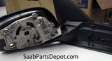 Genuine Saab Passenger Exterior Mirror Housing w/o Mem. Funct. (5512728) - 9-5 - Saab Parts Depot  - 2
