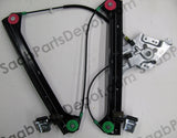 Saab Genuine  Front Window Regulator - Left (12793728) - 9-3 - Saab Parts Depot  - 1