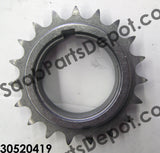 Lower Timing Chain Sprocket (30520419) - Saab Parts Depot  - 2