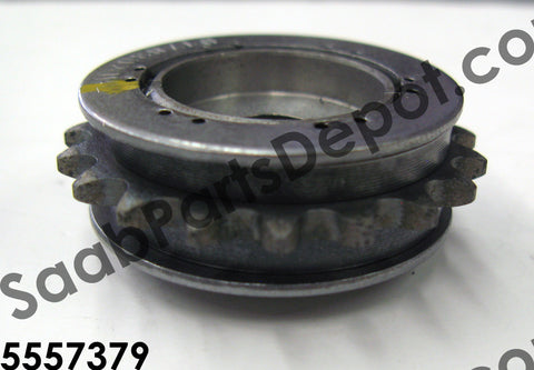 Balance shaft sprocket (55557379) - Saab Parts Depot  - 1