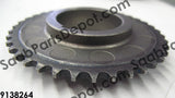 Lower balance shaft sprocket (to crankshaft) (9138264) - Saab Parts Depot  - 2