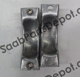 Genuine Saab Exhaust Clamp (5465950) Both Halves - 900, 9-3 - Saab Parts Depot  - 3