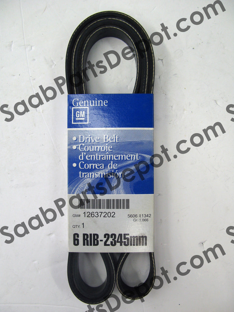 Serpentine Belt (12637202) - 9-7 (V8) - Saab Parts Depot