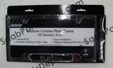 License Plate Frame - Chrome (0274203) - Saab Parts Depot  - 2