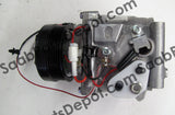 New A/C Compressor - Sanden Oem  65646002036 (4635892) - 9-3 - Saab Parts Depot  - 3