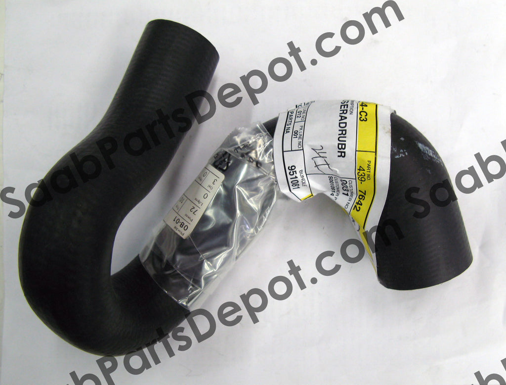 SAAB Engine Coolant Hose - Upper (4397642) - 9-5 V6 - Saab Parts Depot