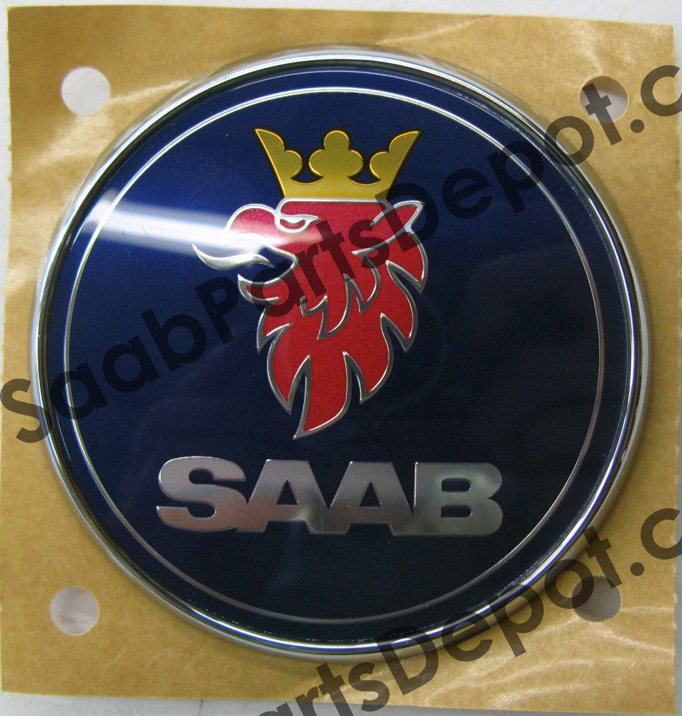 Emblem - Rear (Trunk) (12844158) - 9-5 - Saab Parts Depot  - 1