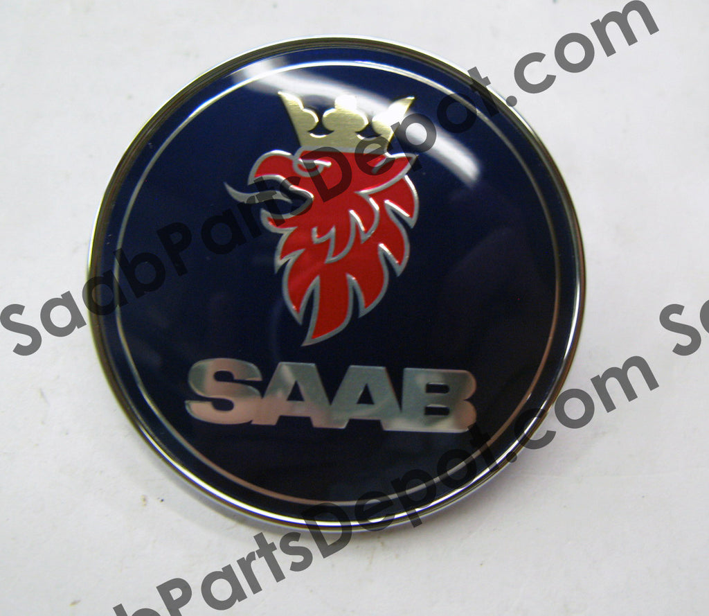 Emblem - Front (Hood) (Late Style) (5289871) - Saab Parts Depot  - 1