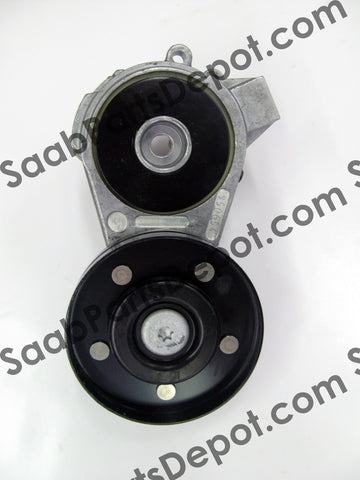 Serpentine Belt Tensioner (4356119) - 900 (4-cyl) - Saab Parts Depot  - 1