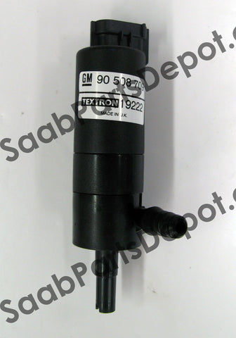 Genuine Saab Washer Pump (90508709) - 9-3 (SS), 9-5 - Saab Parts Depot