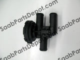 Saab OEM Engine Coolant Bypass Valve (90566947) - 95 - Saab Parts Depot  - 2