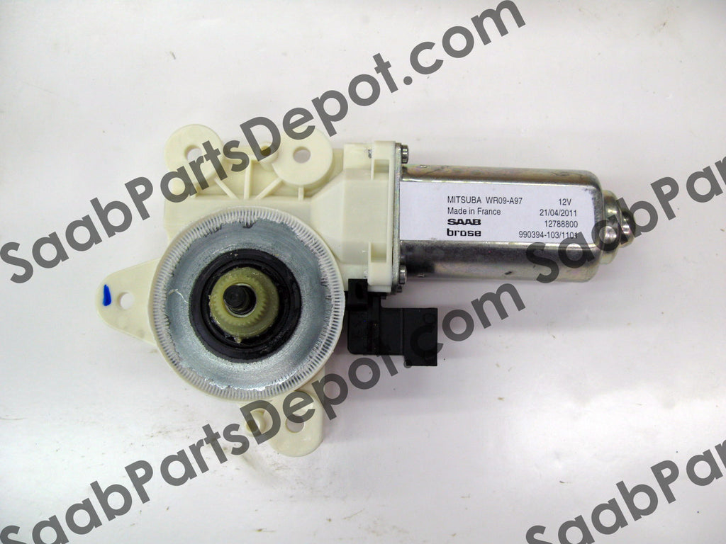 Window Motor - Front Passenger Side (12788800) - Saab Parts Depot  - 1