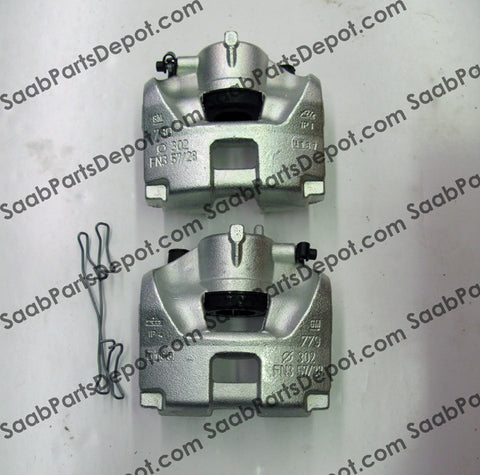 "CLEARANCE ITEM!!! New Saab OEM Front Brake Caliper Kit - (93188666) -2003-05 ""9-3"" Model. - Saab Parts Depot  - 1"